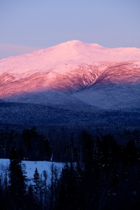 Mt Washington Alpine Glow